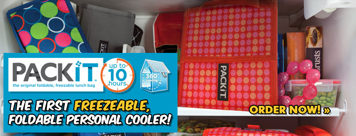 Pack It - The first freezeable, foldable, personal cooler bag