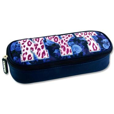 Premier Oval Pencil Case - Nyt Leopard Print
