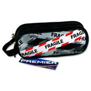 Premier Oval 2 Pocket Pencil Case - Fragile