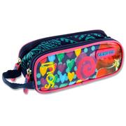 CAMPUS TWIN ZIP PENCIL CASE - SOUL
