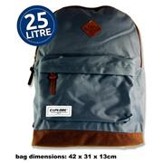 Explore 25ltr Backpack - Bac Pack Grey & Tan