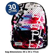 Explore 30ltr Backpack - Black Explore Full