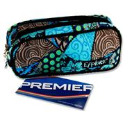 Explore Twin Zip Pencil Case - Tropical