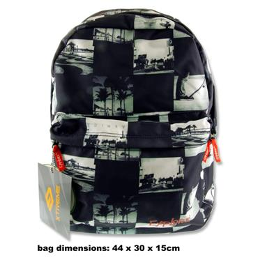 EXPLORE RALLY 30ltr BACKPACK - COLLAGE BLACK & WHITE