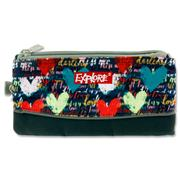 EXPLORE 3 POCKET PENCIL CASE - COLORFUL HEARTS
