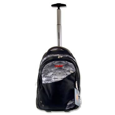 EXPLORE TROLLEY BACKPACK - CRYSTAL & BLACK