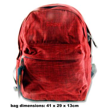 EXPLORE 25ltr BACKPACK - 2 TONE RED