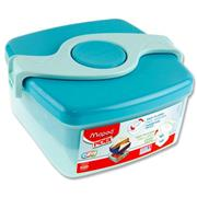 Picnik Origins Twist Sandwich Box - Turquoise