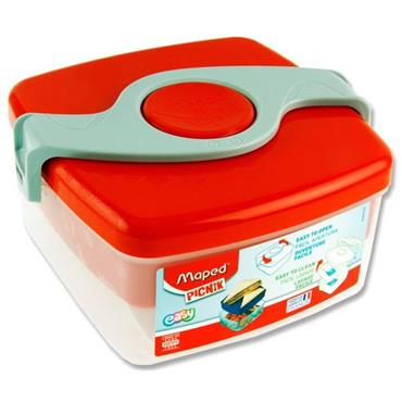 Picnik Origins Twist Sandwich Box - Red