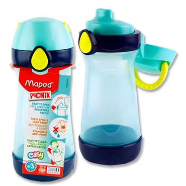 Picnik Concept 430ml Bottle With Handle - Blue