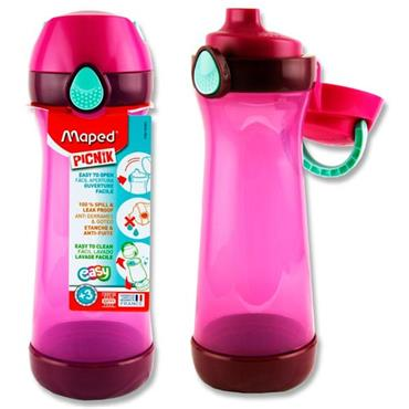 Picnik Concept 580ml Bottle With Handle - Pink