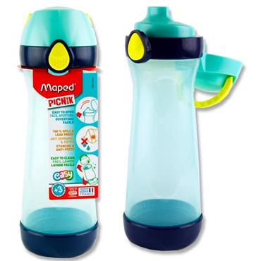Picnik Concept 580ml Bottle With Handle - Blue