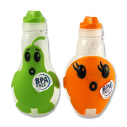 Pear and Orange Drink Bottles 350mL