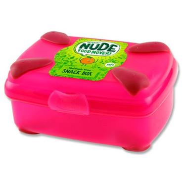 NUDE FOOD MOVERS Snack Box Bright - Pink