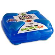 NUDE FOOD MOVERS Sandwich Box Bright - Blue