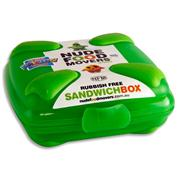 NUDE FOOD MOVERS Sandwich Box Bright - Green