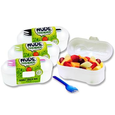 SMASH NFM DOUBLE SNACK BOX & FORK