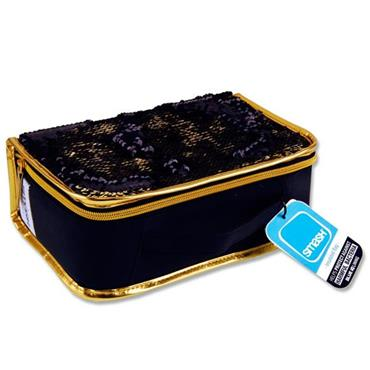 Smash Cold Box - Reversible Sequin Black & Gold