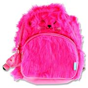 Smash Junior Plush Backpack - Pink Cat
