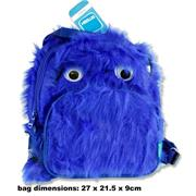 Smash Junior Plush Backpack - Blue Monster