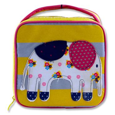 SMASH Lunch Case-Patchwork Elephant